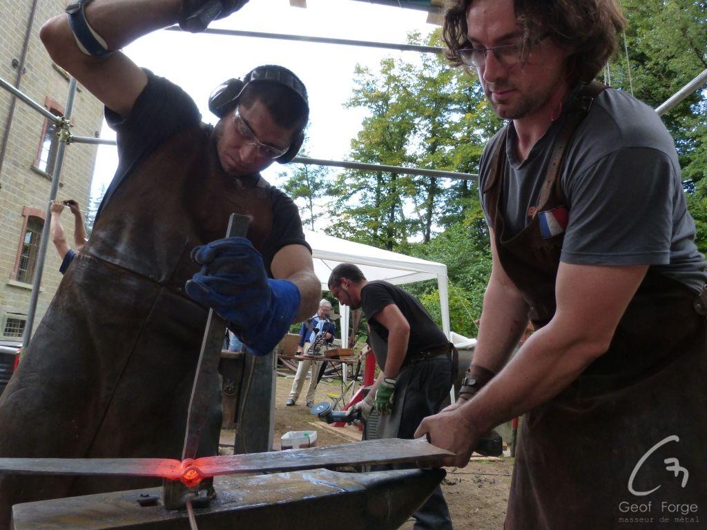 www.masseur-metal.fr - Geoffroy Weibel forgeron d'art, forge et metallerie contemporaine Strasbourg - Stia 2015 (9)
