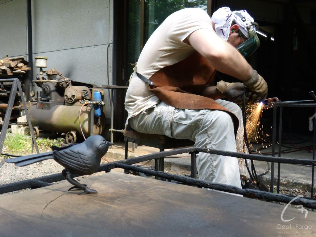www.masseur-metal.fr - Geoffroy Weibel forgeron d'art, forge et metallerie contemporaine Strasbourg - japan animals (22)