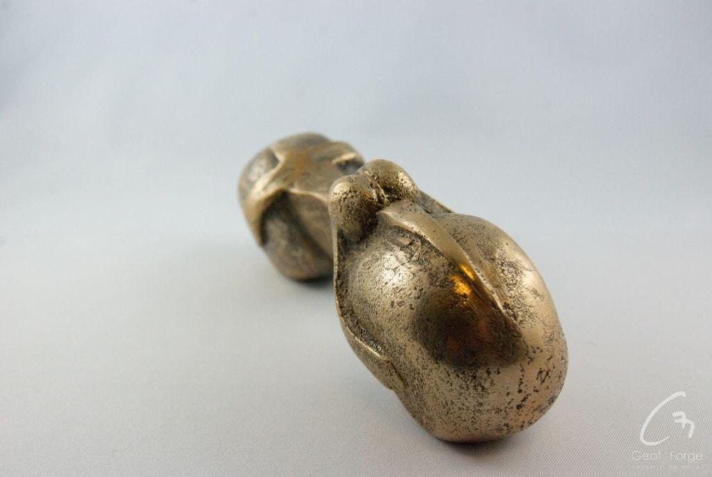www.masseur-metal.fr - Geoffroy Weibel forgeron d'art, forge et metallerie contemporaine Strasbourg - sculpture bronze (2)