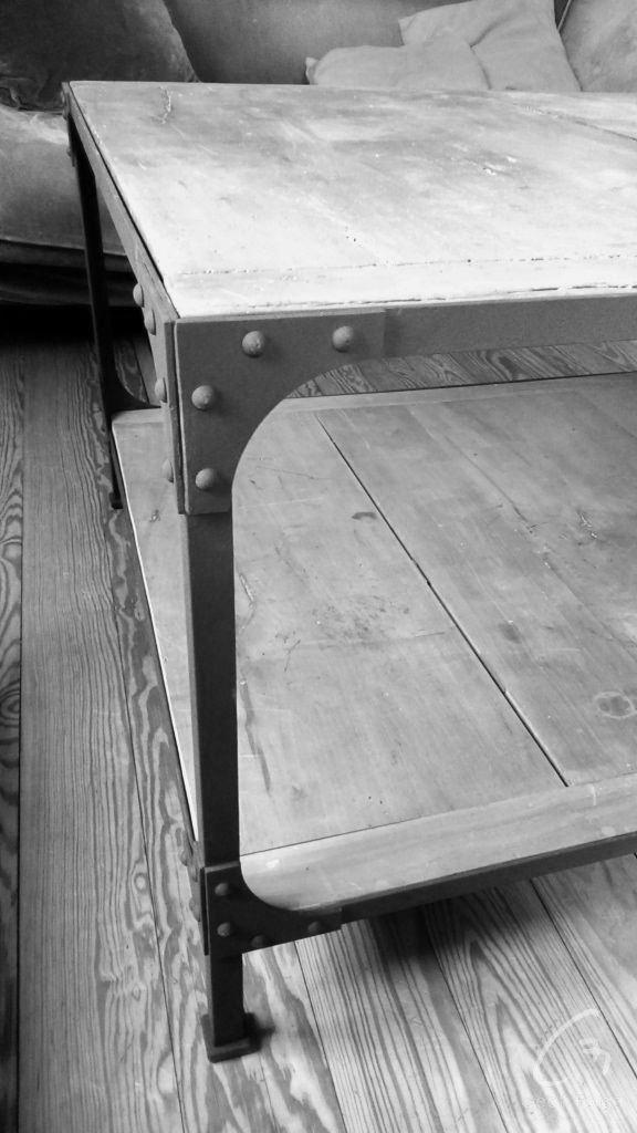 www.masseur-metal.fr - Geoffroy Weibel forgeron d'art, forge et metallerie contemporaine Strasbourg - table basse rivet eiffel (7)